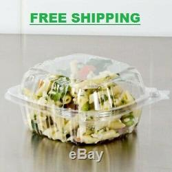 1500 CASE Dart 5 Clear Hinged Lid Plastic Food Deli To Go Clamshell Container