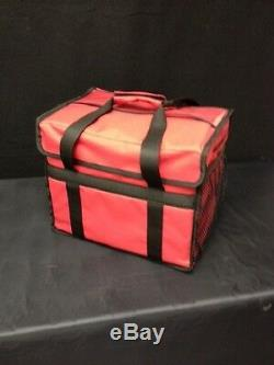 15 x 10 x 12 Thermal Deli Bag With2 Side Pockets Case of 5 (L-DE-2P-N)