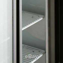 36 Black Floor Model Refrigerated Deli Seafood Bakery Meat Pastry Display Case
