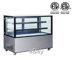 60 Bakery Case Refrigerator New Display Show Case Pastry Display Deli Cake