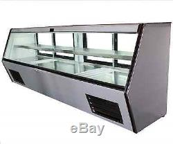 96 Brand New US-Made with US Compressor Cooltech Refrigerated Counter Deli Case