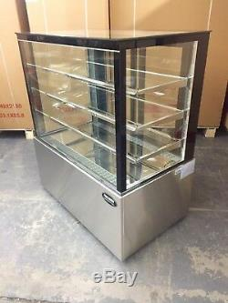 Bakery Case Refrigerated Pastry Deli 4' Display Case 48 Cake Show Case NEW