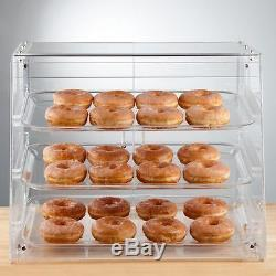 Bakery Pastry Self Serve Display Case 3 Trays Deli Convenience Store Candy Donut