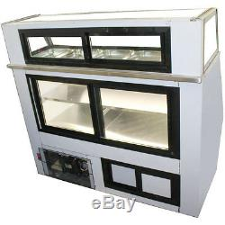 Coolman Commercial Refrigerated 7-11 Style Deli Meat Case 96