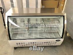 DELI CASE NEW 60 5 SHOW Curved Glass REFRIGERATOR DISPLAY Bakery Pastry MEAT