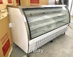 DELI CASE NEW 72 82 SHOW Curved Glass REFRIGERATOR DISPLAY Bakery Pastry MEAT