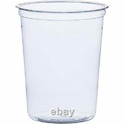 Dart DM32R Bare Eco-Forward RPET Deli Containers 32 oz Clear 50 per Pack Case