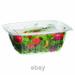 Eco-Products 32 oz. Compostable Rectangular Deli Containers / 200-ct. Case