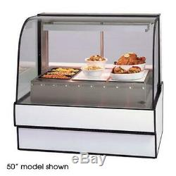 Federal CG5948HD Curved Glass 59 Hot Deli Case