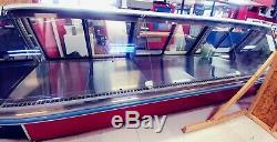 HUSSMANN 12', NEW, DELI CASE With TILT UP STRAIGHT GLASS & BLOWER, WithREMOTE REFRIG