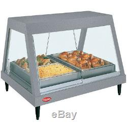 Hatco GRHDH-2P Countertop Heated Deli Display Case with 3 qt. Humidity Capacity