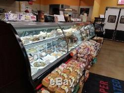 Hill Phoenix 16 Ft Deli Case Run Round Lift Up Glass Case YEAR 2014 Ready To Go