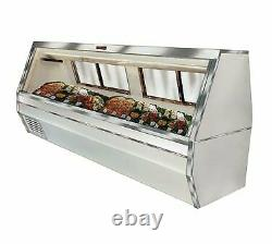 Howard-McCray R-CFS35-8-S-LED Deli Seafood / Poultry Display Case