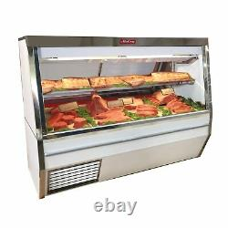 Howard-McCray R-CMS34N-4-BE-LED Red Meat Deli Display Case