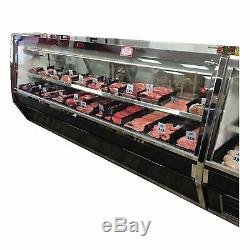 Howard-McCray R-CMS40E-10-BE-LED 124 Red Meat Deli Display Case