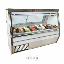 Howard-McCray SC-CFS34N-6-S-LED Deli Seafood / Poultry Display Case
