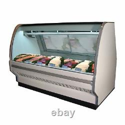 Howard-McCray SC-CFS40E-6C-S-LED Deli Seafood / Poultry Display Case