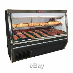 Howard-McCray SC-CMS34N-8-BE-LED 96 Red Meat Deli Display Case
