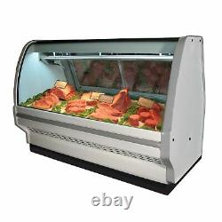 Howard-McCray SC-CMS40E-4C-LED 51 Red Meat Deli Display Case