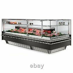Infrico USA IDC-VBC90AARSCP 73 Red Meat Deli Display Case