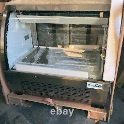 KoolMore 47 Deli Case & Meat Display Stainless-Steel Curved Glass LOCAL PICK UP
