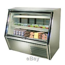 Leader CDL48, 48x34x45-Inch Refrigerated Deli Case, Gravity Coil, Self-Contained
