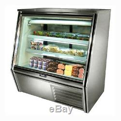 Leader HDL48, 48x34x53-Inch Refrigerated Deli Case, Self-Contained, Gravity Coil
