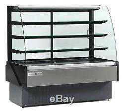 MVP Group Hydra Kool KBD-CG-40-S Curved Glass Bakery Deli Case (115V)
