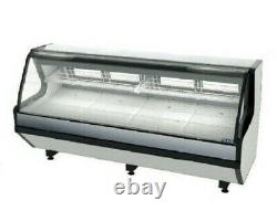 Meat Deli Case 98 LED Lighthing Corrosion-Resistant Stainless Steel Interior