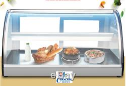 NEW 36 Dry Warmer Display Case Bakery Deli Restaurant Buffet Hot Food Model H11