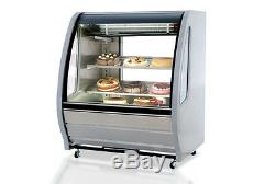 NEW 40 Refrigerated Display Case Torrey TEM100+AI NEW 4930 Deli Bakery Cold NSF