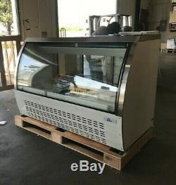 NEW 65 Commercial Deli Showcase Refrigerator Cooler Case Display Bakery Pastry