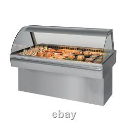 New Aged Frijado CD5 Curved Refrigerated Deli Case