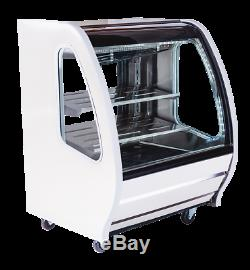 Pro Kold Deli And Pastry Display Case DDC 40w White 39