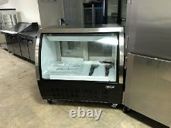 REFRIGERATED New 36 Deli Case Curved Glass DC-92-HC