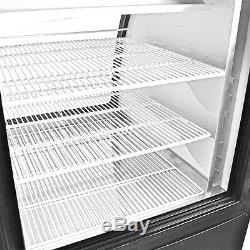 SABA 47 Commercial Deli Case/Display Case Refrigerator with Curved Glass