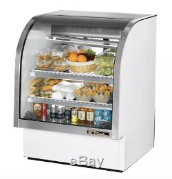 True TCGG-36-LD 36 Full Service Deli Case with Curved Glass (3) Levels, 115v