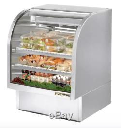 True TCGG-36-S-LD 36 Full Service Deli Case with Curved Glass (3) Levels, 115v