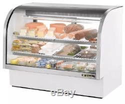 True TCGG-60-LD 60 Full Service Deli Case with Curved Glass (3) Levels, 115v
