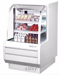 Turbo Air TCDD-36H-W 37 Full Service Deli Case with Curved Glass (3) Levels, 11