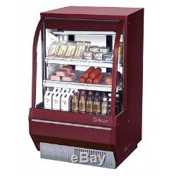 Turbo Air TCDD-36H-W(B)-N Refrigerated Deli Display Case (Replaces TCDD-36-2-H)