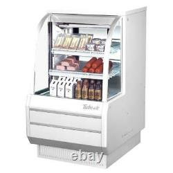Turbo Air TCDD-36H-W-N 36 in High-Profile Refrigerated Deli Case
