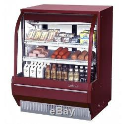 Turbo Air TCDD-48H-W(B)-N Refrigerated Deli Display Case