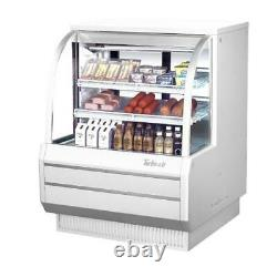 Turbo Air TCDD-48H-W-N 48 in High-Profile Refrigerated Deli Case