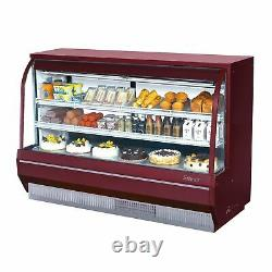 Turbo Air TCDD-72H-R-N 72 Full Service Refrigerated Deli Display Case