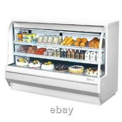 Turbo Air TCDD-72H-W-N 72 in High-Profile Refrigerated Deli Case