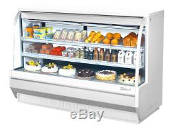 Turbo Air TCDD-72L-W-N 72 1/2 Full Service Deli Case with Curved Glass (2) Leve