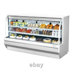 Turbo Air TCDD-96H-W-N 96 in High-Profile Refrigerated Deli Case