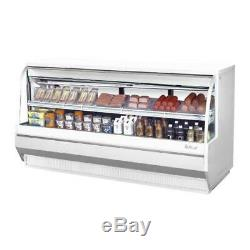 Turbo Air TCDD-96L-W-N 96 in Low-Profile Refrigerated Deli Case