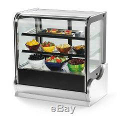 Vollrath 40867 59 Heated Deli Countertop Display Case Cubed Glass